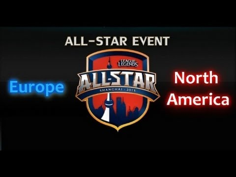 LCS Allstars: Europe vs North America - Game 1 Highlights