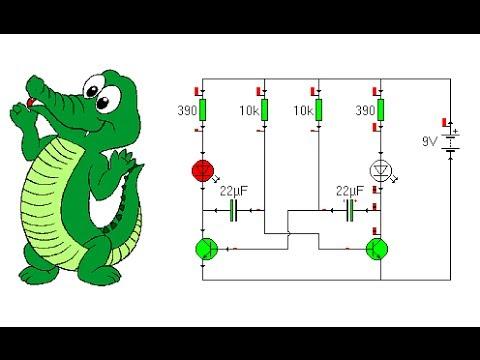 El programa más sencillo para el diseño de circuitos electronicos