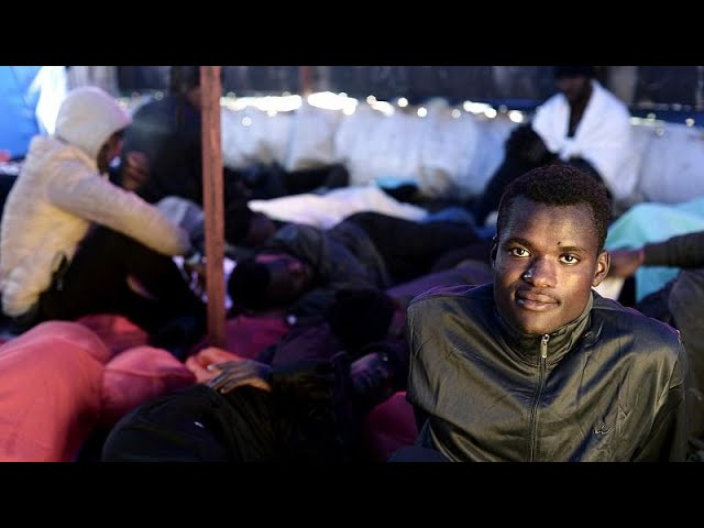 Drifting ship and bickering states: EU torn over migrants' fate