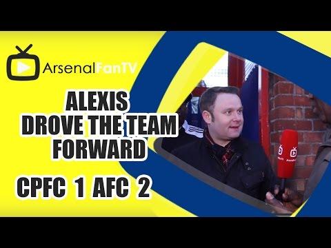 Alexis Drove The Team Forward - Crystal Palace 1 Arsenal 2