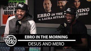 download lagu Desus & Mero Speak On Trolling Ebro, Working For gratis