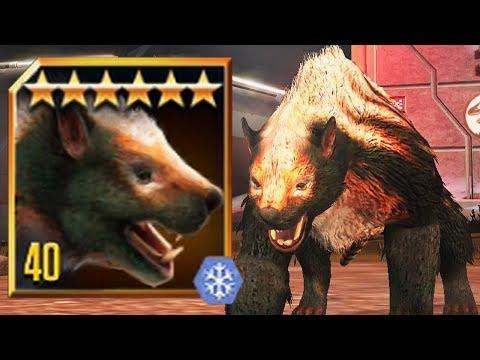 MARSUPIAL LION LVL 40 - New LEGENDARY CENOZOIC CREATURE  - Jurassic World The Game