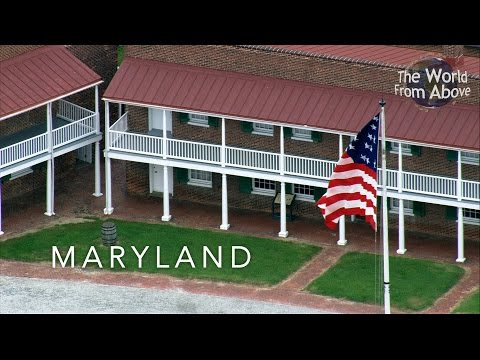 Maryland, USA From Above in High Definition (HD)