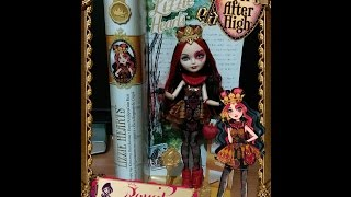Ever After High Lizzie Hearts Türkçe Tanıtım