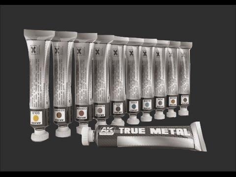 AK True Metal Paints Scale Model Tool Review