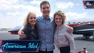 Join the American Idol Top 3 on Their Hometown Visits - American Idol 2018 on ABC