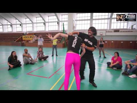 Kamacho and Anastasia - Prague Zouk Congress 2016 - Demo