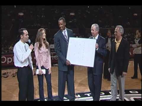 Spurs LDS Night - Sean Elliott Family Tree Presentation