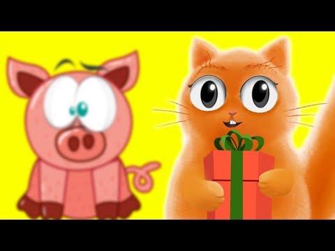 Розыгрыш свинки с веселым котом #Джемом!