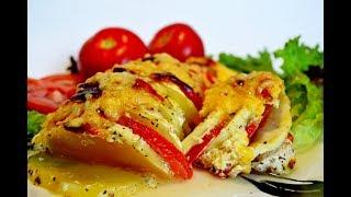 ЗАПЕКАНКА ИЗ КАБАЧКОВ! Очень вкусная запеканка из овощей с мясом!