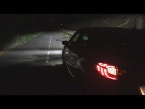 Как светит Renault Kaptur Extreme с LED - оптикой?