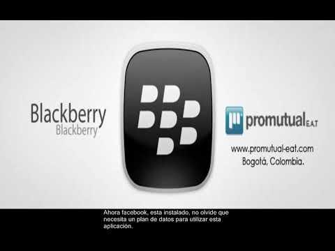 Blackberry Curve 8520 8120 8800 8820: Descargar e instalar aplicación Facebook