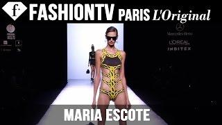 Maria Escote Spring/Summer 2015 | Mercedes-Benz Fashion Week Madrid | FashionTV
