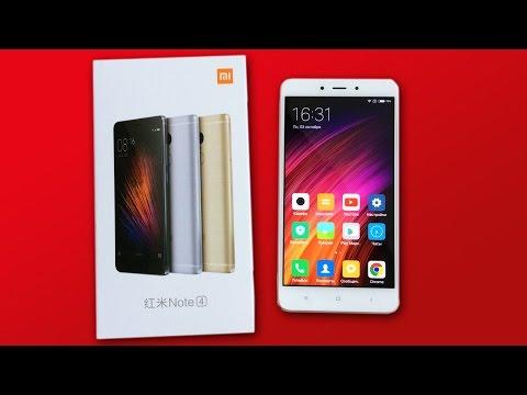 Обзор смартфона Xiaomi Redmi Note 4 на 32 и 64Gb