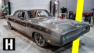 ALL-Carbon Body '70 Dodge Charger - 950hp worth of Carbon Fiber Madness!