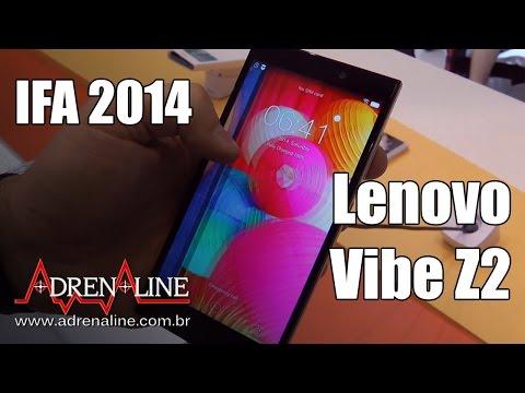 Vibe Z2, o smartphone da Lenovo pronto para suas selfies