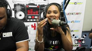 Moncherie, Mac11 and  Shemmy J Perform on Talkin 4 Curry