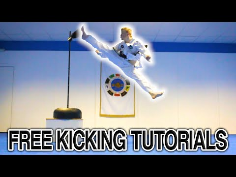 Taekwondo Kicking Tutorials Promo (ginger Ninja Trickster) video