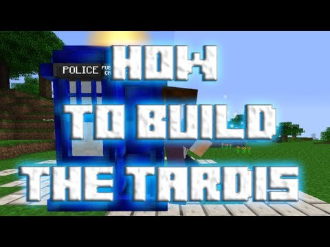 How To Build The Best Tardis In Minecraft
