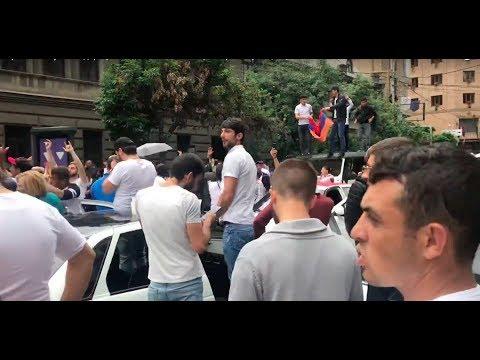 Ереван ликует! Лидер протестов Пашинян избран премьером | Страна.ua