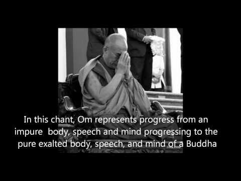 Om Mani Padme Hum With Prayers By His Holiness The Dalai Lama video