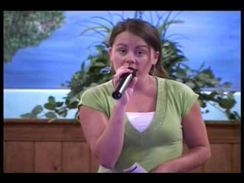 Southern Gospel Music - Victory In Jesus - Sarah Hardison video