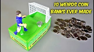10 Weird Coin Banks Ever Made
