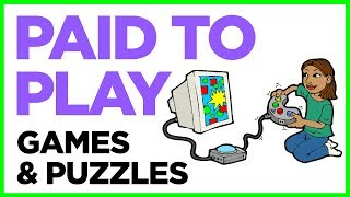 3 Ways To Make Money Playing Games & Puzzles