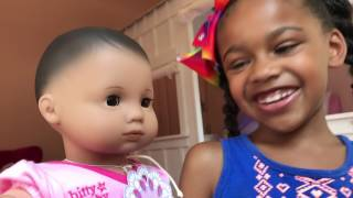Doll PlayToys & Crib  Change - American Girl Doll Pretend Play