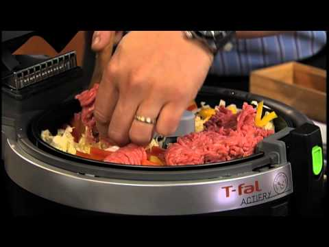 Chef Ming Tsai uses T-fal ActiFry to make Larb
