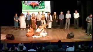 Alberto Marsicano e Ratnabali Adhikari música indiana   19° Encontro da Nova Consciência
