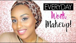 Everyday WORK Makeup Tutorial | Aysha Abdul