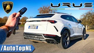LAMBORGHINI URUS REVIEW POV Test Drive on AUTOBAHN & ROAD by AutoTopNL