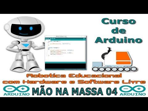 Curso de Arduino - Mão na Massa 04 - Construir um suporte para notebook