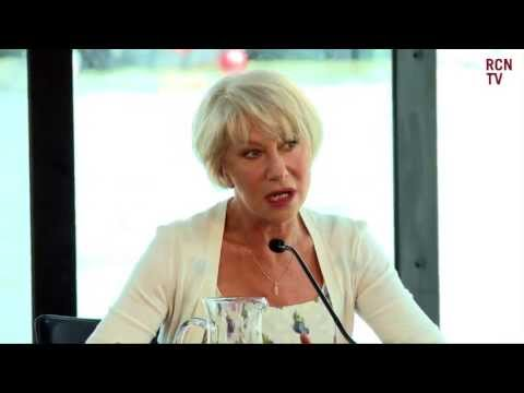 RED 2 Press Conference - Bruce Willis  Mary-Louise Parker & Helen Mirren Interview