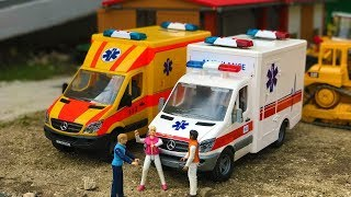 BEST of BRUDER TOYS Ambulance RC action videos for