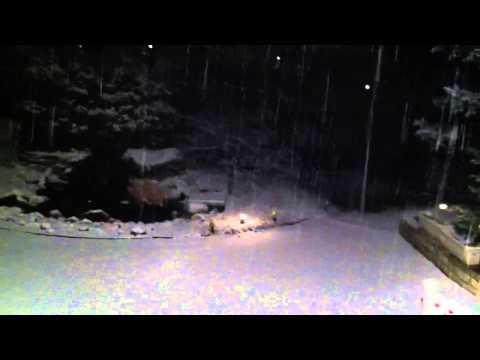 Heavy Snow in Dublin, Ohio on 3/5/2013