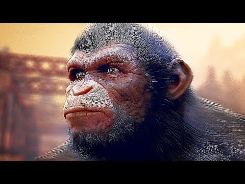 PLANET OF THE APES Last Frontier Gameplay Trailer (2017) PS4 / Xbox One / PC