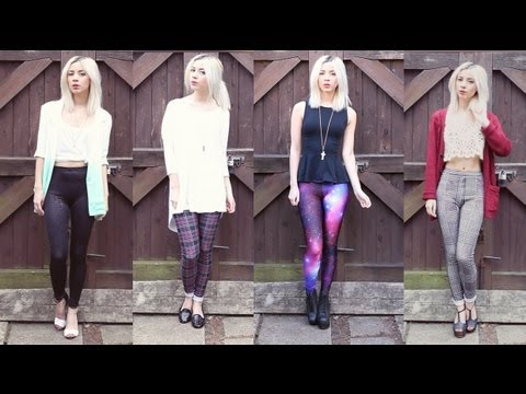 How I Style: PATTERNED LEGGINGS + GIVEAWAY!