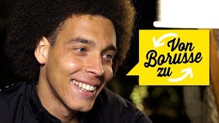 What's heading the ball like with your haircut? | Your 09 Questions for Axel Witsel