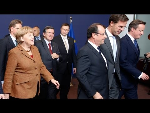 Hollande and Merkel doubt summit will agree EU budget