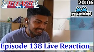 ICHIGO vs GRIMMJOW INCOMING!! - Bleach Anime Episode 138 Live Reaction