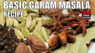 Basic Garam Masala Recipe By Food Scientist بیسک گرم مصالحه