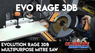 Evolution Rage 3DB multipurpose mitre saw review