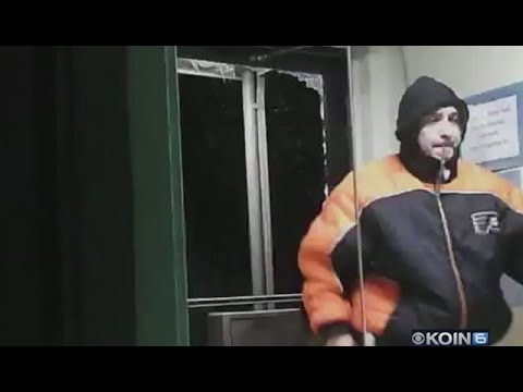 Caught on camera: Man breaks into Salem non-profit