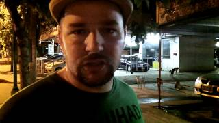 How to handle Bangkok Soi Dogs, Tips from Wayne in Bangkok Thailand, Man attacked in video