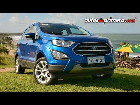 Nueva Ford EcoSport 2018 - Lanzamiento para Colombia en Brasil