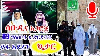 ሳዑዲና አጋሮቿ - 89 ግለሰቦች እና ድርጅቶች ይፋ አደረጉ - ኳታር - Saudi and Allies 89 Orgs and Indivs and Qatar - DW