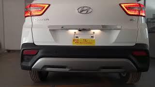 2019 Hyundai Creta Feautres change Review   Led Tail Lamps