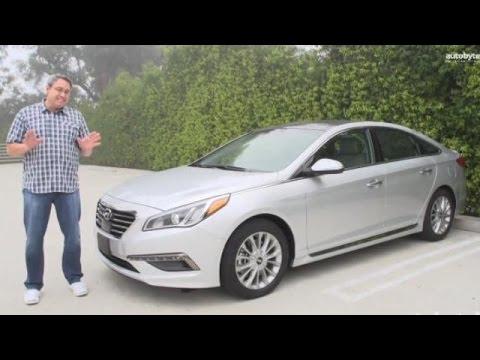 2015 Hyundai Sonata Test Drive Video Review video